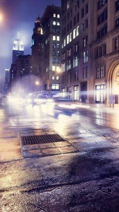 Light Building Street - theiphonewalls.com