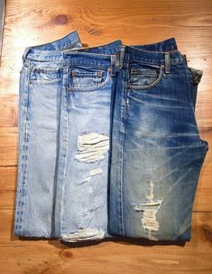 Vintage selvage jeans #Levis #denim #selvage #vintage