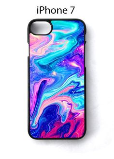 Watercolor Rainbow Paint iPhone 7 Case Cover