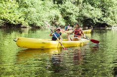 Kanotur på floden