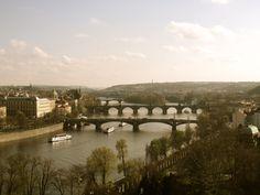 Prague - city of Spires, or bridges?