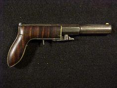 Gibbs Tiffany & Co. Underhammer Percussion Single Shot Pistol Circa 1850s