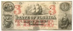 3 dollar of State of Florida, Tallahassee, United States, Florida