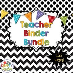 The Ultimate Teacher Planner BinderI love BEING super organized! Getting there is not always my strong suit! I created a basic teacher binder planner to help me be organized when I taught 4th grade. It was awesome! It has helped me so much with having everything at my fingertips!