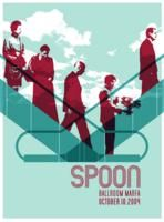 Spoon by Noel Waggener Design Band Posters, Cool Posters, Music Posters, Concert Posters, Gig Poster, New Flyer, Music Photo, Advertising Design, Cool Bands
