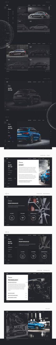 Audi1 #ui #ux #userexperience #website #webdesign #design