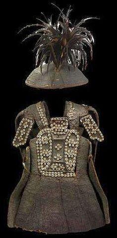 Philippine armor and hat, late 19th century,  Musée du quai Branly.