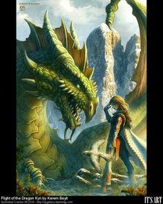Flight of the Dragon Kyn by Kerem Beyit