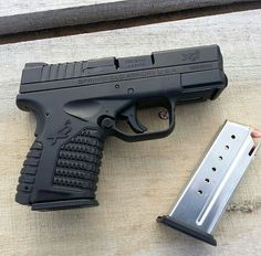 Springfield XDs 9mm. Have the .45 and would love to have the 9 too!