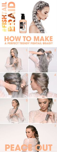 How to make a perfect #fishtail braid? Get your best #Festivalhair with Stylista!