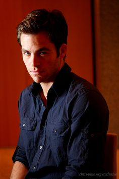 Chris Pine brooding - what could be sexier?