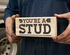 You're A Stud - Father's Day Card