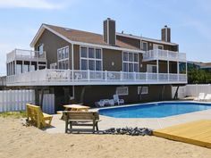 Virginia's Dream is a Oceanfront Sandbridge rental with 7 bedrooms and 5+½ bathrooms. Find amenities, availability and more regarding this Siebert Realty rental property here.