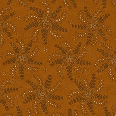 Pumpkin Orange  Whimsy Quilting Fabric  Henry by PrimitiveQuilting, $5.30