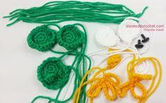 patrones crochet, tejido crochet, patrones crochet Free Crochet, Crochet Earrings, Gaudi, Mini, Victoria, Knitted Slippers, Owl Bird, Tricot, Craft