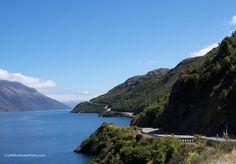 Lake Wakatipu, South Island, New Zealand - photo by B N Sullivan