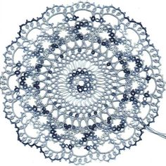 Skye's Doily (Rnd 5 - finished!)