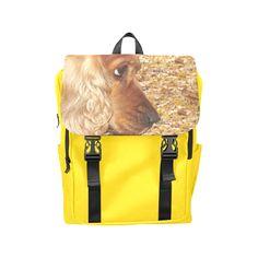Dog Cocker Spaniel Casual Shoulders Backpack (Model 1623)