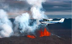 Volcano, Iceland, Fighter Jets, Aviation, Aircraft, Plane, Bucket, Ice Land, Airplanes