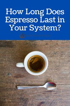 I love to start my day with espresso. There is something special about its aroma, potent flavor, and rich boost of energy. I find myself having more than one shot through the day. Recently, I started to wonder about the effect espresso has on our bodies. Specifically, about how long it stays in our system. Turns out that having a shot in the morning, a cappuccino at lunch, and another pick-me-up before the end of the workday may not be the best idea. #espresso Coffee Cream, Coffee Type, Black Coffee, Coffee Canister, Coffee Spoon, Coffee Mugs, Types Of Coffee Beans, Different Types Of Coffee, Acquired Taste