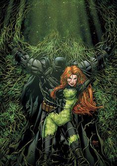 Poison Ivy and Batman