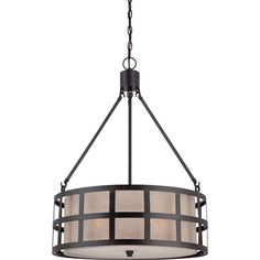 Buy the Quoizel Teco Marrone Direct. Shop for the Quoizel Teco Marrone Marisol 4 Light Drum Pendant with Hardback Linen Shade and save. Industrial Pendant Lights, Drum Pendant, Drum Chandelier, Pendant Lighting, Light Pendant, Industrial Style, Chandeliers, Quoizel Lighting, Laurel