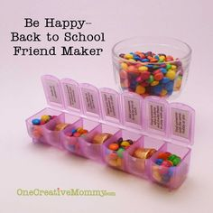 Be Happy--Back to School Friend-Maker Game from OneCreativeMommy.com Would be great for Girls Camp activity.