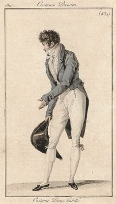 Costume Parisien 1807: Costume Demi-habillé
