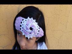 Diadema - a Crochet - Ganchillo - Muy Facil - paso a paso - tejida con flor en 3D - YouTube Victorian Lace, Antique Lace, Crochet Hats, Antiques, Youtube, Fashion, Hair Streaks, Crochet Free Patterns, Chain Stitch