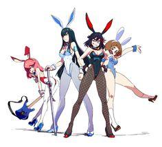 Chica Anime Manga, Manga Girl, Kawaii Anime, Fan Art Anime, Anime Art Girl, Character Concept, Character Art, Kill A Kill, Kill La Kill Cosplay