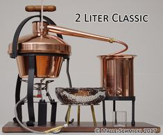 Copper Still and Distilling Equipment: Shop Malle/Schmickl Tequila, Distilling Equipment, Whiskey Still, How To Make Moonshine, Apple Press, Copper Still, Wine And Beer, French Press, Home Brewing
