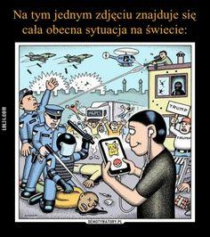 Na tym jednym zdjęciu znajduje się cała obecna sytuacja na świecie #sytuacja #świat