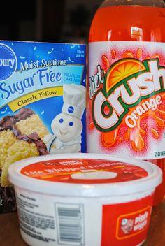 Orange Sherbet Cake   Cook'n is Fun - Food Recipes, Dessert, & Dinner Ideas