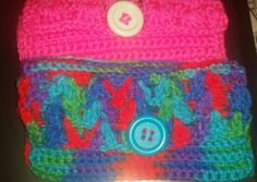 HorOffTheHook:  Small clutches  Multi-colored Perfect for holding make-up and carrying on the beach! #crocheted #colorful #art #crafts #crochet #crocheting #crochetersofinstagram #crochetersofig #blankets #scarves #creation #custommade #prayerrug #hats #booties #love #faith #gratitude #prayer #destiny #journey #awaken #createyourownreality #peaceofmind #FollowYourHeart #lovewhatyoudo #followme #follow4follow #20likes #40likes by indigosahu