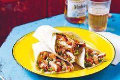 Das Rezept für Chipotle-Hähnchen-Tacos mit allen nötigen Zutaten und der einfachsten Zubereitung - gesund kochen mit FIT FOR FUN