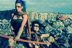 Mad Max inspired photoshoot in Masku 2015. Photo: Mad Kitty Lomax / Magdalena Hai