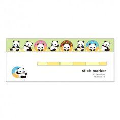 Pandas Love Donuts Sticky Notes (◕ᴥ◕) Kawaii Panda - Making Life Cute