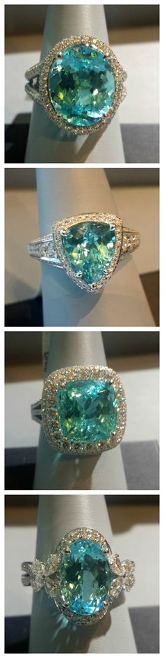 Paraiba is paradise you wear...find your Simon G. Paraiba jewelry at Ben Garelick Jewelers