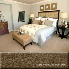 For long wearing carpet choose short tightly dense construction. To hide footprints completely, choose a twist pile or looped carpet. No carpet is bullet proof. It's the only textile you buy and then proceed to walk on it. Some people buy level loop carpet but better buying twist pile carpet.