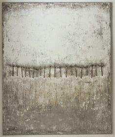 2014 - 110 x 90 cm - Mischtechnik, Pflanzenfasern auf Leinwand  ,abstrakte,  Kunst,    malerei, Leinwand, painting, abstract,          cont...