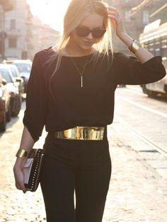 black & gold par e_millner sur STYLIGHT