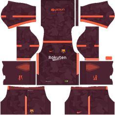 Kit barcelona fc dls17 nike kits 2017-2018 third-terceiro Barcelona Third Kit, Barcelona 2016, Barcelona Team, Barcelona Football, Barcelona Futbol Club, Soccer Kits, Soccer Games, Football Kits, Club