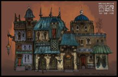 Sean Andrew Murray's Portfolio: Environments http://seanandrewmurray.blogspot.com/