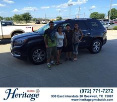 https://flic.kr/p/wj148M | Congratulations to Maria Montoya on your #Gmc #Acadia from Jeffery Clifton at Heritage Buick GMC! #NewCar | www.heritagegmcbuick.com/?utm_source=Flickr&utm_mediu...
