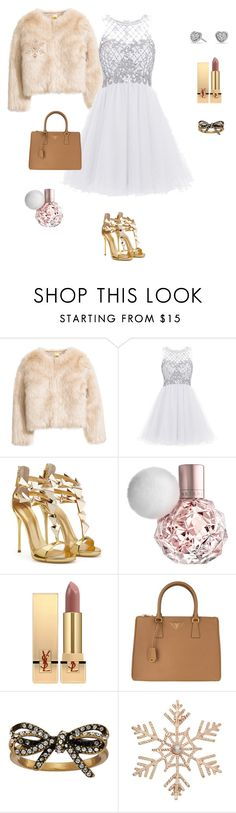 """styling with minima"" by yuri-writer on Polyvore featuring Yves Saint Laurent, Prada, Marc Jacobs, John Lewis and David Yurman"