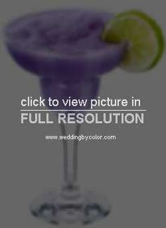 Wedding Reception - Purple signature drink ideas for the reception - FUTUREMRSNIXON1's Purple Wedding by Color Blog