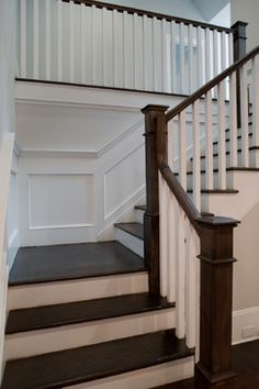 Tenafly Custom Home - Traditional - Staircase - new york - by Elayan Construction Services