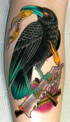 Curt Baer - good raven shape