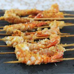 Spicy Shrimp Recipe —Parmesan Crusted Shrimp