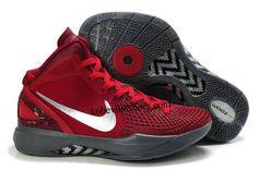 83dc563540f0a1 Nike Zoom Hyperdunk 2011 Supreme Red Metallic Silver-Grey Cheap For Sale